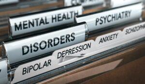 File sui disturbi della salute mentale